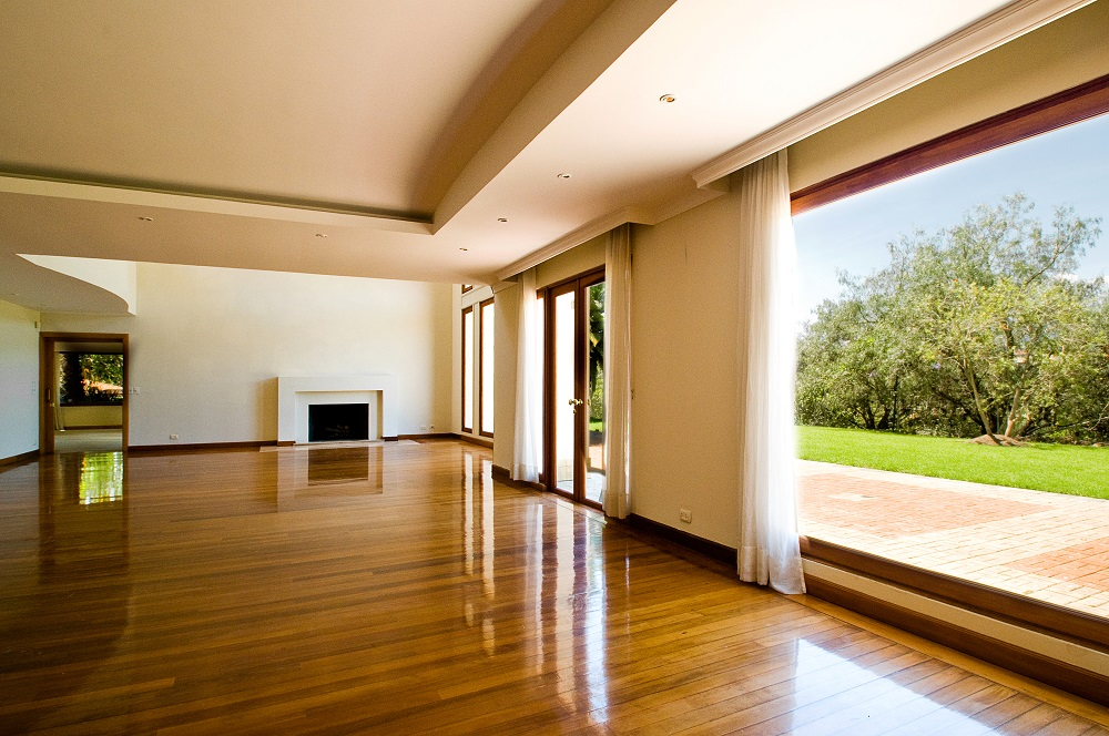 Large room solid wood flooring