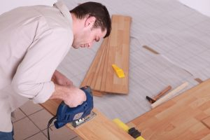 Professional and experienced wood flooring installers will install prefinished hardwood flooring properly.