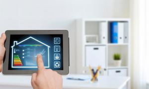 A smart home is when you can remotely control a series of appliances in your home.
