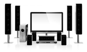 Home theater speakers have different components.