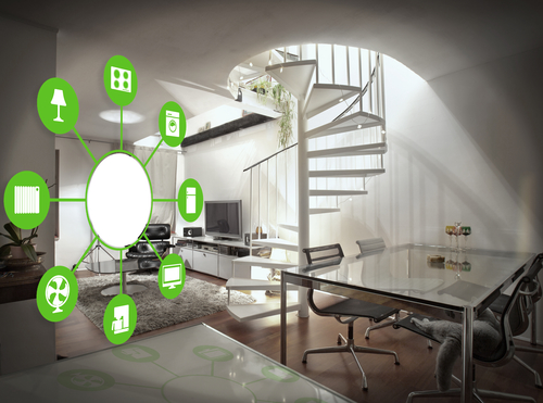A smart lighting system can enhance your home life.