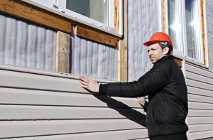 Ask you vinyl siding contractor if they have an in-house team.